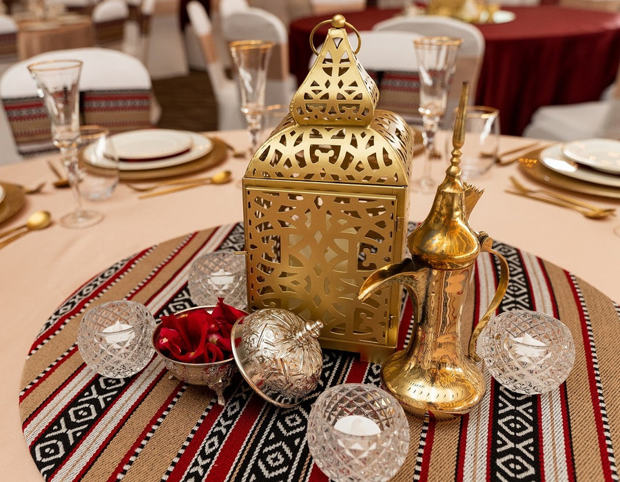 Arabic Print Centerpiece
