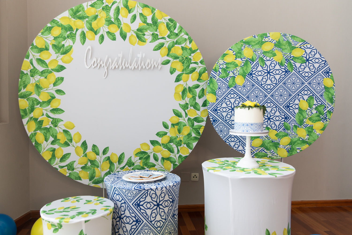 Mediterranean Lemon Decor Box