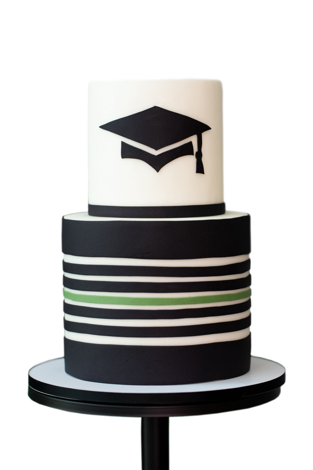 Graduation Modern Jungle Theme Cake