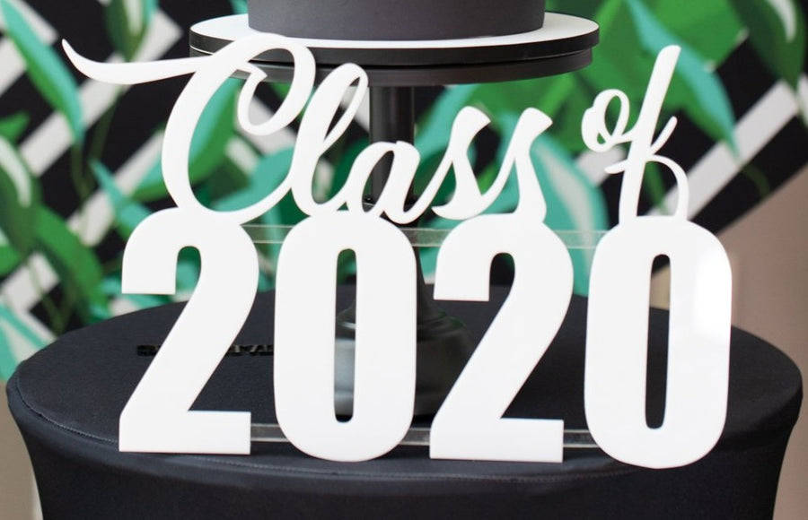 Class of 2020 Sign