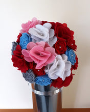 Gorgeous Felt Flower Table Center Pieces