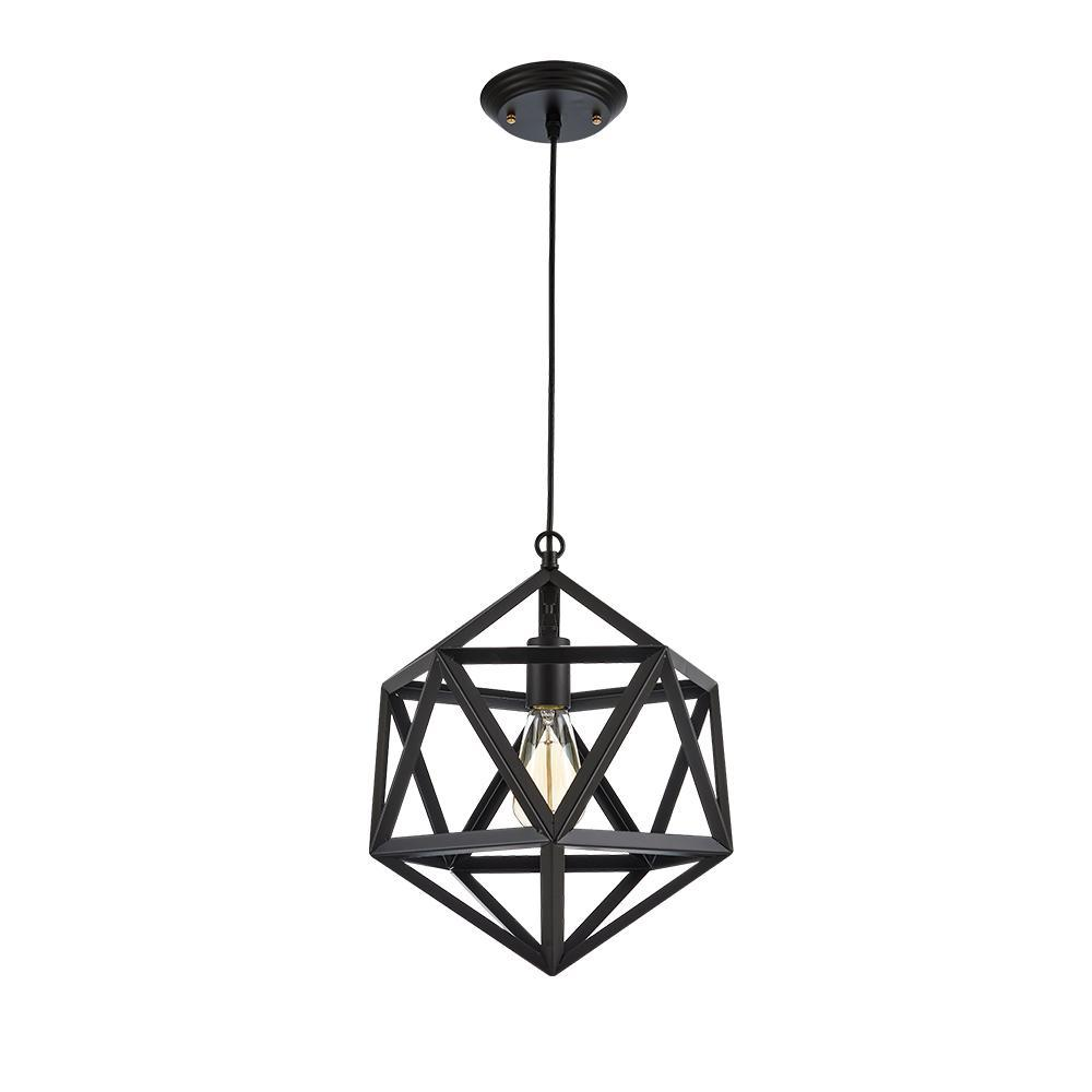 Edison Geometric Pendant Light