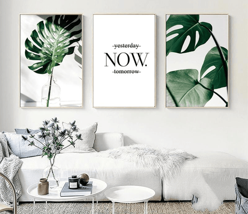 Live In The Now Canvas Prints Painting & Calligraphy ART ZONE Store