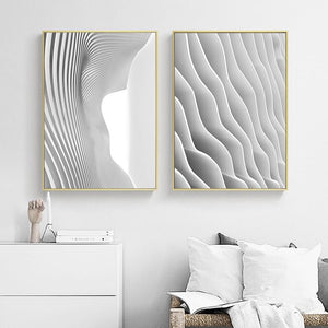 Abstract Art Black White building Wall Art Canvas Painting Modern Home Decor Posters and Prints Wall Pictures for Living Room|Painting & Calligraphy Painting & Calligraphy Sayea Decor Store