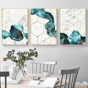 Waves Canvas Prints Sayea Decor Store