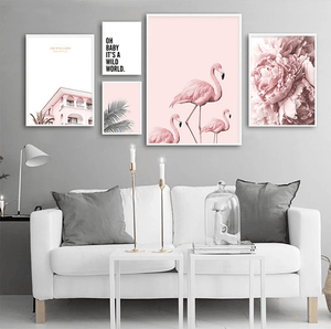 Oh Baby It's A Wild World Canvas Prints Painting & Calligraphy NICOLESHENTING Official Store