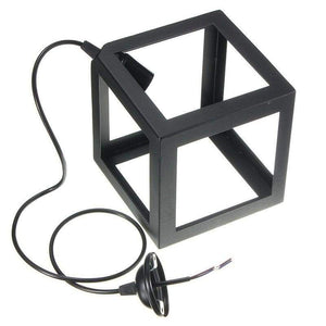 Cube Light - Available in White, Black and Red Lighting khelse Official Store Black Set of 3