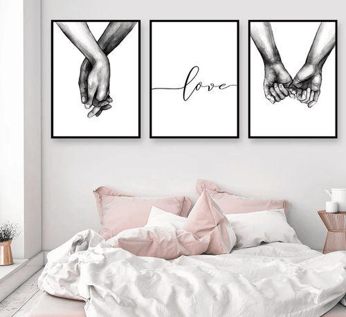 Keep Holding On Canvas Prints Painting & Calligraphy ALLBLUE - Official Store