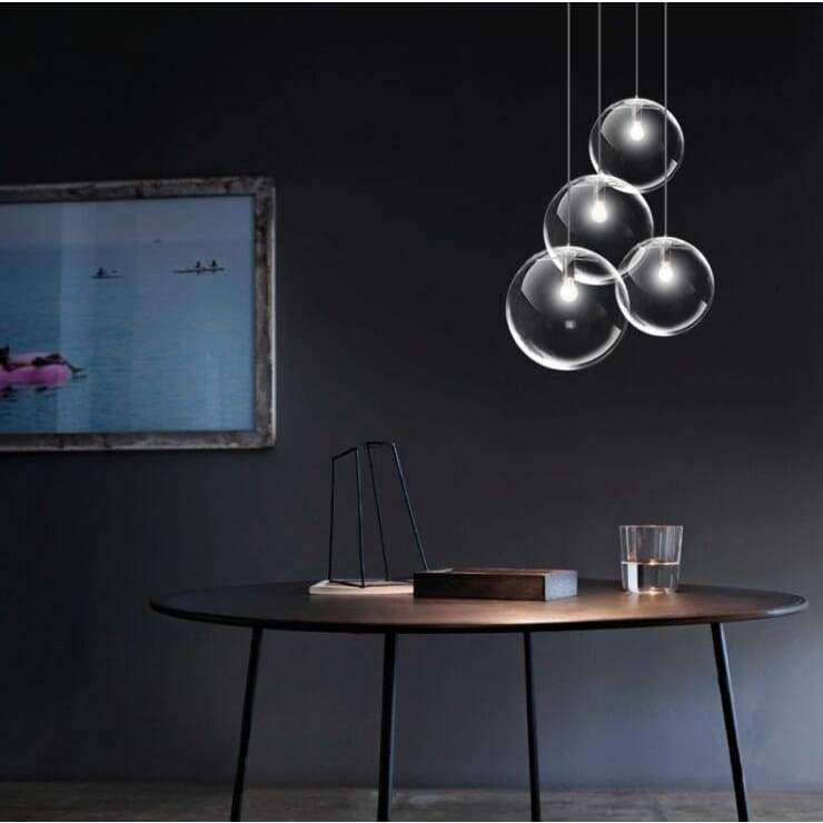 Glass Sphere Light - Pendant Lights