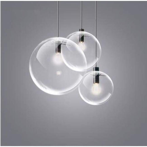 Glass Sphere Light Pendant Lights marmenkina trading Store