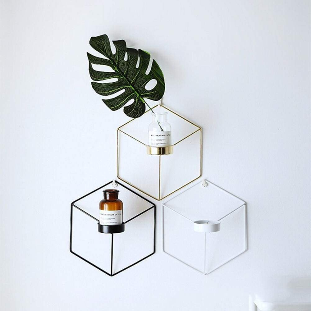 Hexagon Wall Planter - Flower Pots & Planters