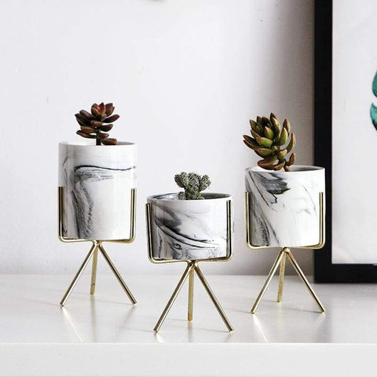 Marble Planter Flower Pots & Planters organized Store Small