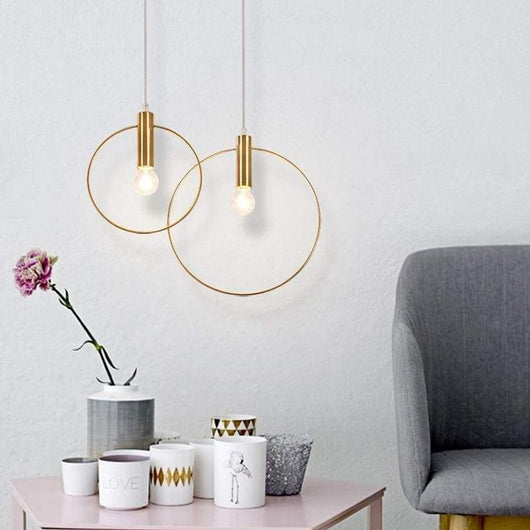 Pendant Light - Gold Plated Iron Pendant Lights marmenkina trading Store 7.9
