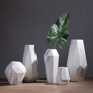 Porcelain Flower Vase - Geometric Perfection for Your Floral Design Shop2936046 Store