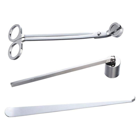 Silver Set: Wick Trimmer, Wick Snuffer and Wick Dipper Embla Default Title