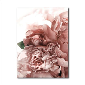 "Floral Canvas Prints Painting & Calligraphy dulike dulike Store A4 / 8.27"" x 11.69"" / 21 x 30 cm Style C"