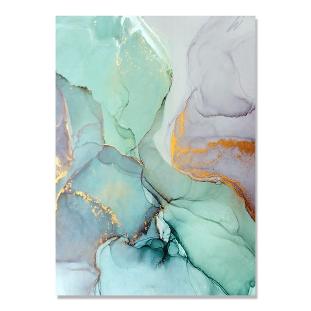 Abstract Watercolor Canvas Prints