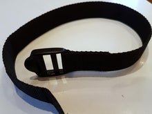Sail Tack Strap black 25mm x 45cms