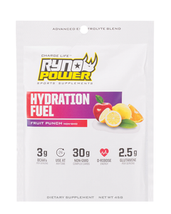 HYDRATION FUEL Fruit Punch Electrolyte Drink Mix | Single Serving