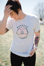 Nomaste Logo Unisex Tee | Heather White