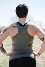 Tree Pose Racerback | Venetian Gray