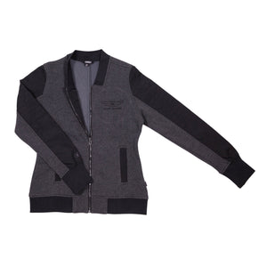 Women's Rogue Aviation Jacket (Black/Charcoal)
