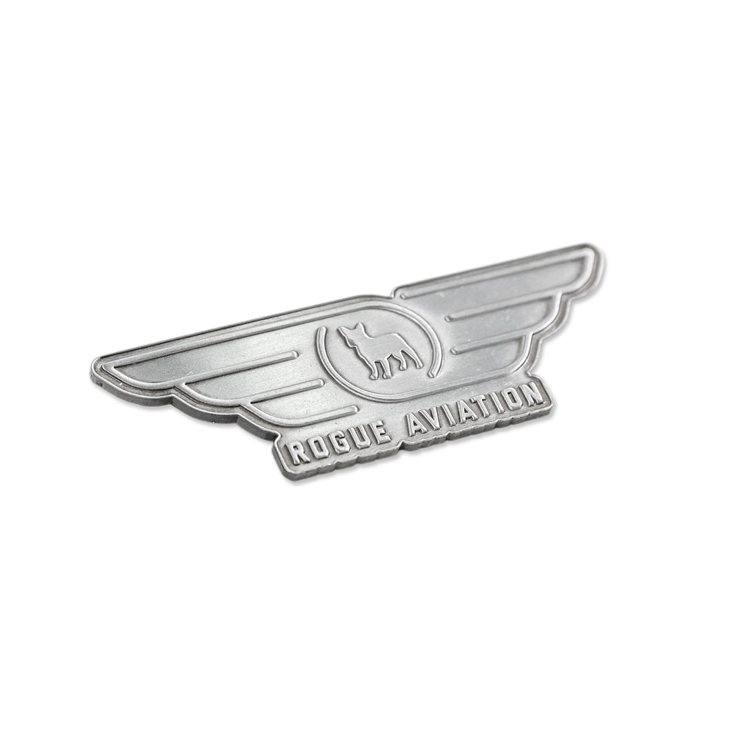 Rogue Aviation Wings Pin