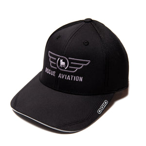 Rogue Aviation Logo Hat (Black)
