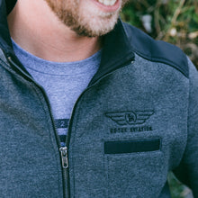 Rogue Aviation Jacket (Charcoal/Black)