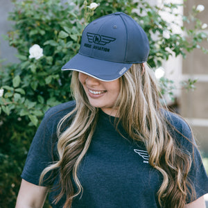 Rogue Aviation Logo Hat (Grey)