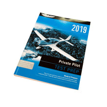 ASA 2019 Private Pilot Test Prep Bundle (Book + Software)
