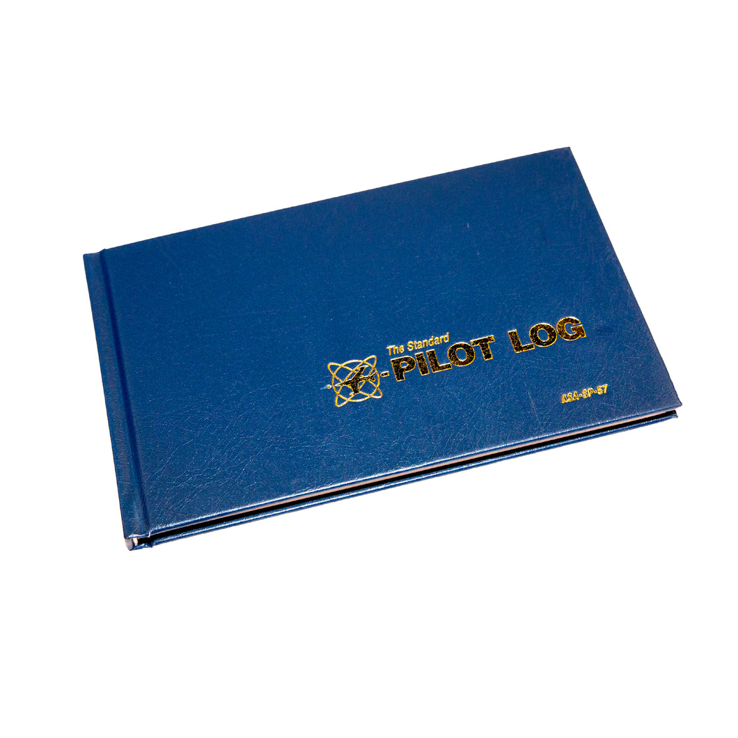 The Standard Pilot Log (Pilot's Log Book - Navy Blue)