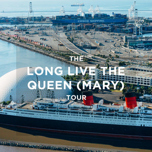 The Long Live the Queen (Mary) Helicopter Tour