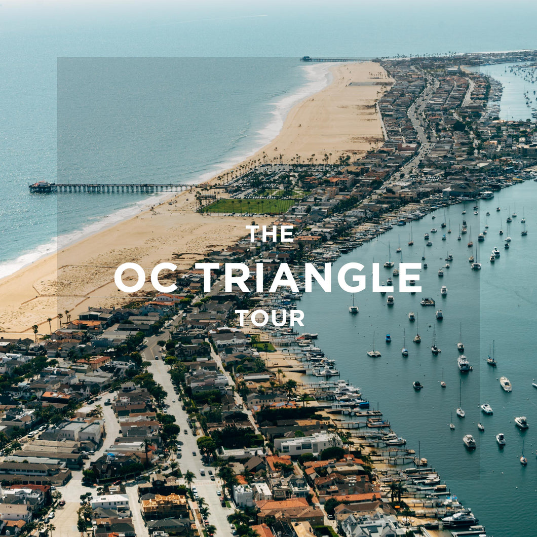 The OC Triangle Helicopter Tour