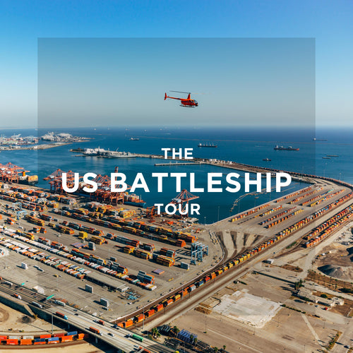 The US Battleship Helicopter Tour