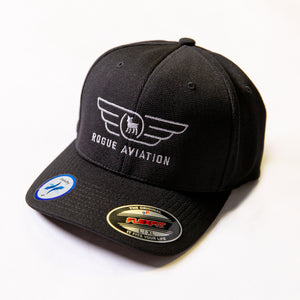 Rogue Aviation Cool Dry Logo Hat