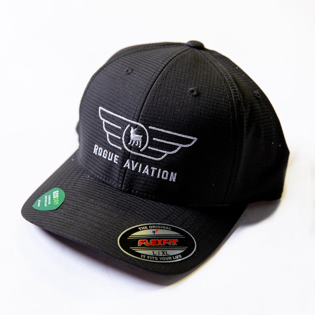 Rogue Aviation Eco Dry Logo Hat