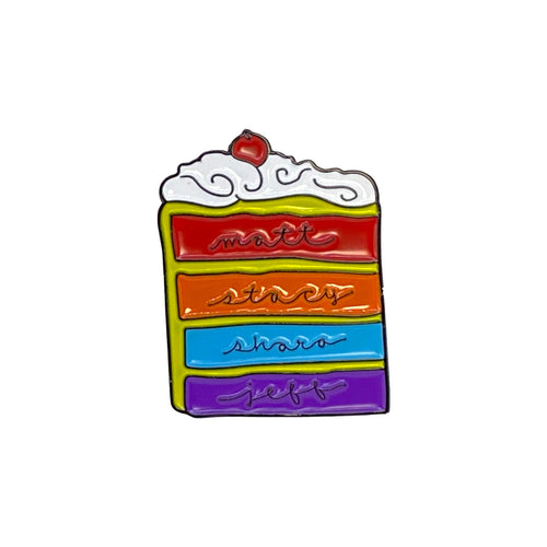 BBR Layer Cake Enamel Pin (Limited Edition!)