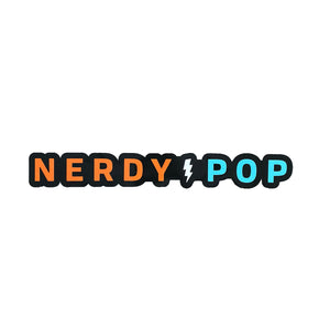 Nerdy Pop Stickers (Pack of Seven)