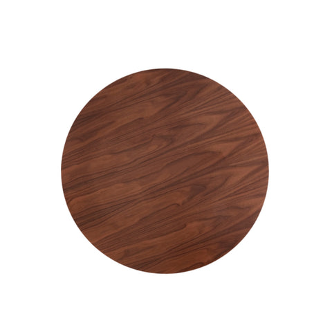 Tulip 90cm Walnut Dining Table - directhomeliving