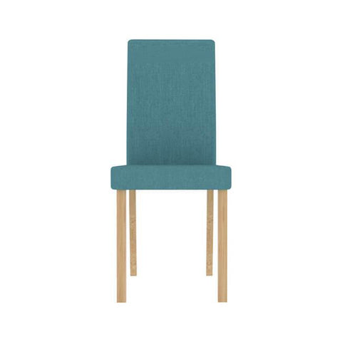 Anna Teal Dining Chair (Pack of 2) - directhomeliving