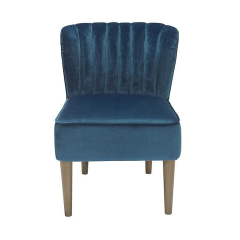 Bella Midnight Blue Chair - directhomeliving