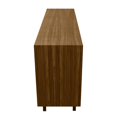 Butterfly Grey Door Walnut Sideboard - directhomeliving