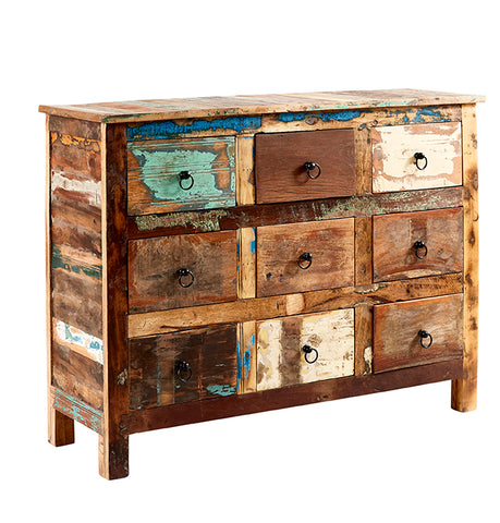 Coastal 9 Drawer Chest - directhomeliving