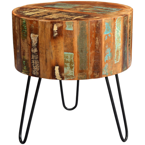 Coastal Drum Side Table - directhomeliving