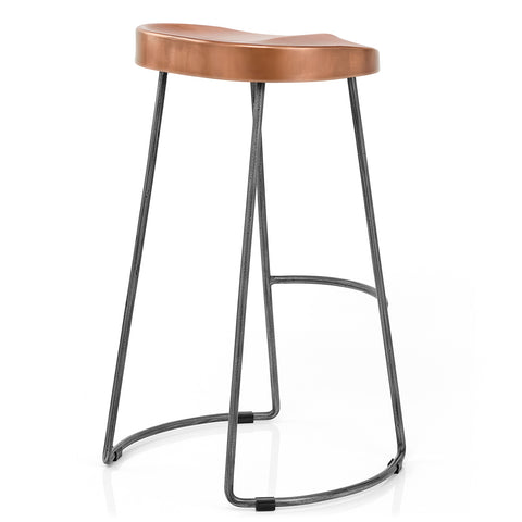 Copper Cast Bar Stool - directhomeliving