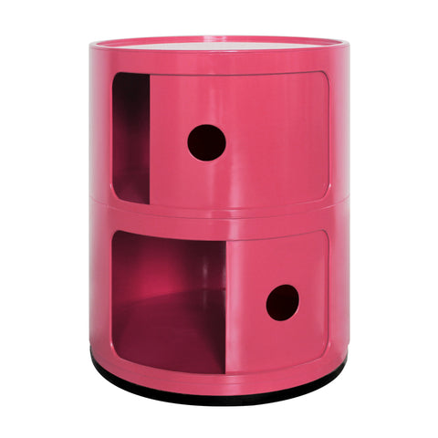 Componibili 2 Tier Pink Storage Unit - directhomeliving