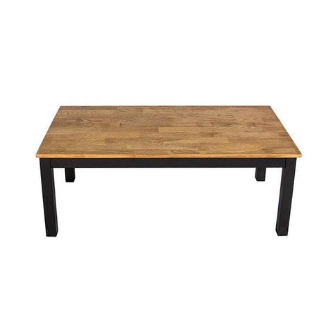 Copenhagen Black Frame Coffee Table - directhomeliving