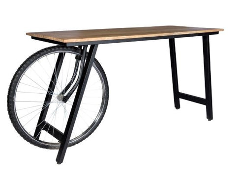 Craft Wheel Industrial Desk - directhomeliving