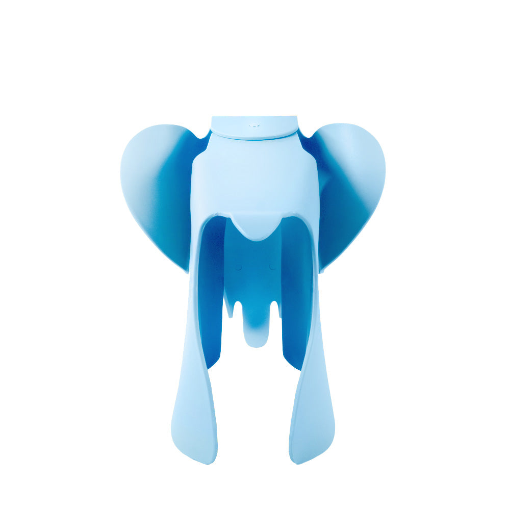 Eames Style Blue Plastic Trendy Elephant - directhomeliving